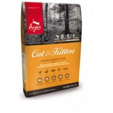 ORIJEN (ОРИДЖЕН)  КЭТ 85/15 беззерновой корм д/взрослых кошек 5,4кг