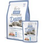 Brit Care Daisy гипоаллергенный корм с индейкой и рисом для кошек с избыточным весом  400гр