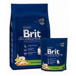 3919/112008 Brit Premium Cat Sterilized для стерилизованных кошек и котов с Курицей 800гр