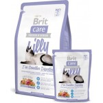 Brit Care Cat lilly Sensitive Digestion беззерновой корм, для кошек с чувствительным пищеварением 400гр
