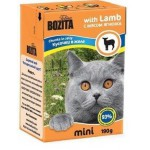 2101 BOZITA MINI кон. д/кошек кусочки в желе с Мясом Ягненка 190гр*16 в упак. Tetra Recart