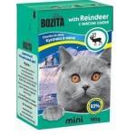 2102 BOZITA MINI кон. д/кошек кусочки в желе с Мясом Оленя 190гр*16 в упак. Tetra Recart