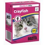 BOZITA Feline Crayfish, мясные кусочки в желе с Лангустами - 370г