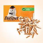 DeliPet Лакомство для кошек Сэндвич с курицей и минтаем (хлорофилл) 50гр