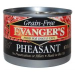 30200 ЭВАНДЖЕРС Grain-free Pheasant кон.д/СОБАК И КОШЕК Фазан Беззерн/Кошерн 369гр*12