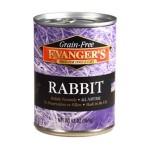 30201 ЭВАНДЖЕРС Grain-free Rabbit кон.д/СОБАК И КОШЕК Кролик Беззерн 369гр*12