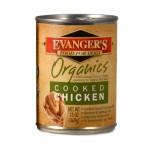 50099 ЭВАНДЖЕРС Organics Cooked Chicken кон.д/собак обед из Цыпленка 369гр*12