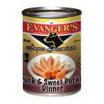 20102 ЭВАНДЖЕРС Dinner Duck & Sweet Potato кон.д/собак обед из Утки и батата Беззерн/Кошерн 369гр*12
