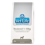 22455 FARMINA Vet Life Neutered диета для кастрированных или стерилизованных собак массой до 10 кг профилактика МКБ 2кг