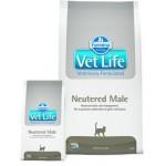 22530 FARMINA Vet Life Neutered Male корм для кастрированных котов 0,4кг