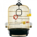 51049802 Клетка для птиц круглая Ferplast REGINA (золото) 49*32,5см