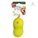GiGwi 75009 Игрушка для собак 2 мяча с пищалкой Большие 8см*80