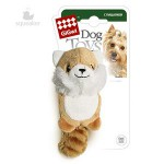 GiGwi 75014 Игрушка для собак Лисичка с 2-мя пищалками 1*100