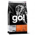 GO! NATURAL Sensitivity + Shine Корм для щенков и собак с чувств. пищеварением со свежим Лососем и Овсянкой  - 230гр