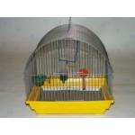 420 Клетка д/птиц малая полукруглая комплект 35*28*37 (Зоомарк)