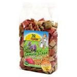 JR FARM 05593 Подушечки из овощей д/грызунов 100г*4