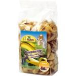 JR FARM 01650 Лакомство д/грызунов кусочки Банана 150г*8