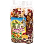JR FARM 02204 Лакомство д/грызунов Тропические фрукты 200г*8