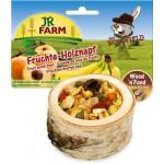 JR FARM 06791 Лакомство д/грызунов Чаша деревянная с фруктами 120г*6