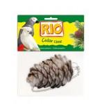 'РИО Лакомство-игрушка КЕДРОВАЯ ШИШКА для всех видов птиц *8
