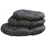 HUNTER - Лежак для собаки Пепита Дизайн 100см, серый