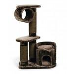 I.P.T.S. 408846 Комплекс для кошек Могущественный Кот, коричневый 75*45*118см