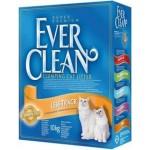EVER CLEAN Less Track Наполнитель для длинношерстных кошек 10кг (желтая полоса)