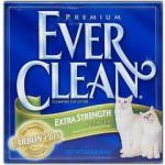 EVER CLEAN Extra Strength Scented Наполнитель для кошек с ароматизатором 6кг (зелёная полоса)