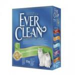 EVER CLEAN Extra Strength Scented Наполнитель для кошек с ароматизатором 10кг (зелёная полоса)