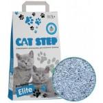 """Cat Step  Наполнитель Professional """"Elite"""" комкующийся с ароматом алое вера 5кг"""