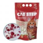 Cat Step  Наполнитель силикагель с ароматом клубники  1,67кг (3,8л)
