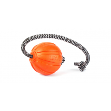 LIKER мячик Лайкер Корд на шнуре  диаметр 7см оранжевый