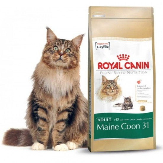 Корм royal canin maine coon kitten 400