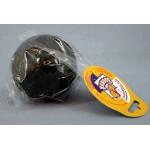 16477 Зооник Игрушка для собак Мяч ц/р черный средний ф65мм