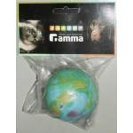 132 ГАММА Игрушка для собак Мяч средний цельно/резиновый 55-60мм литой