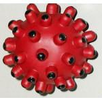 75011 ТРИОЛ Игрушка для собак Мяч мина, винил ф5,5см